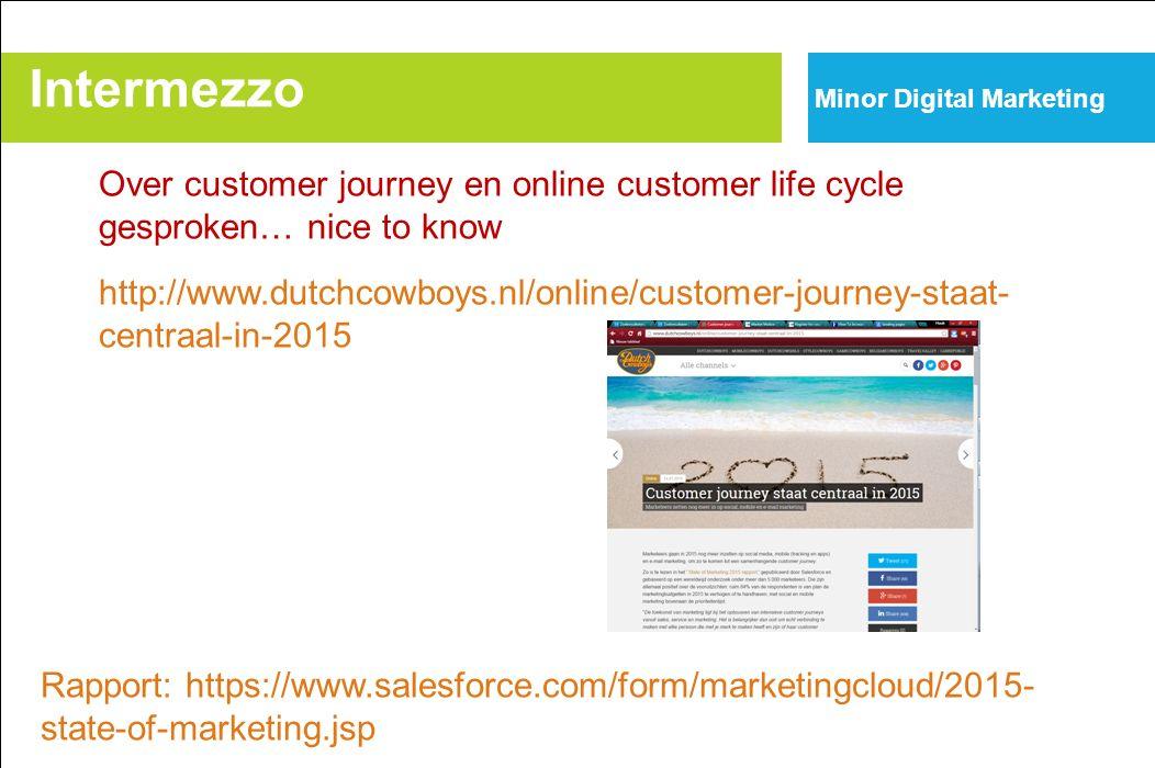 Over customer journey en online customer life cycle gesproken… nice to know http://www.dutchcowboys.nl/online/customer-journey-staat- centraal-in-2015