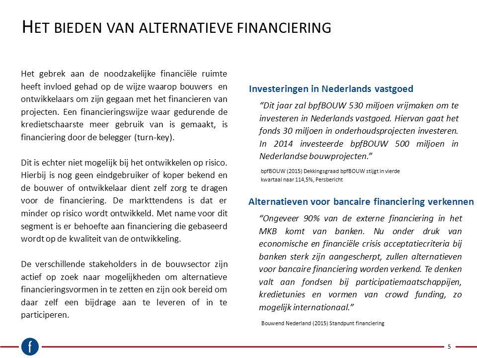 H ET MKB I MPULSFONDS 6 Een vergelijkbaar initiatief als een financieringsfonds voor de bouw is het MKB Impulsfonds.