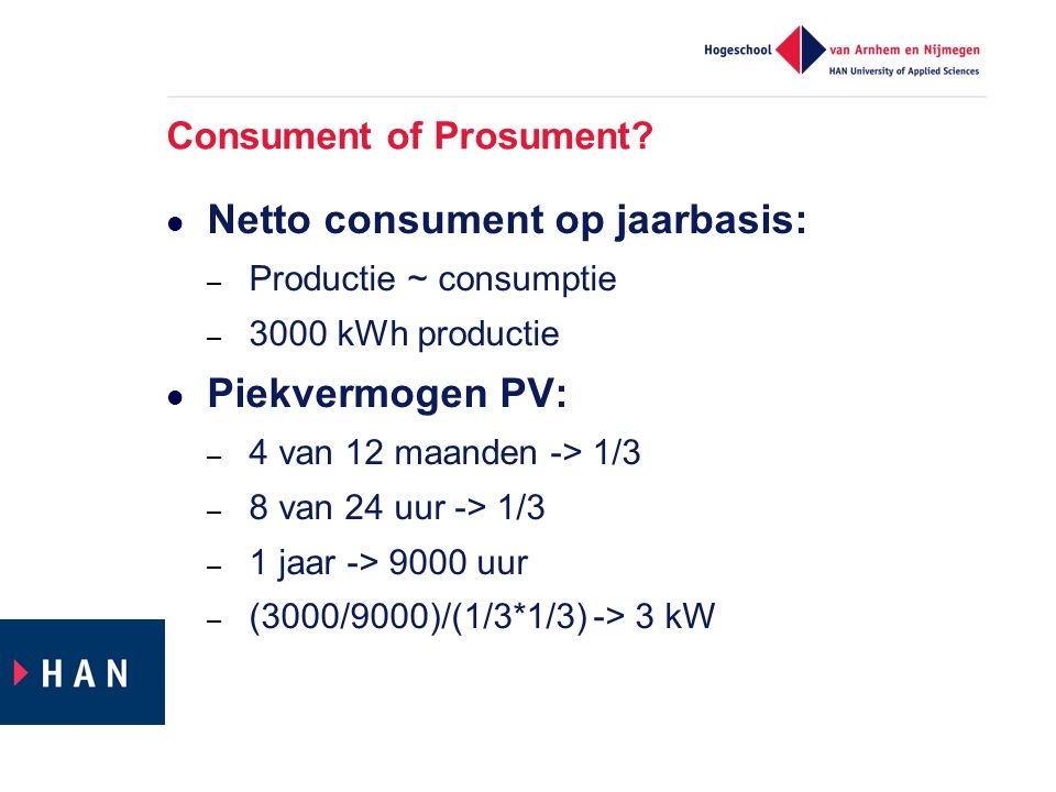 Consument of Prosument.