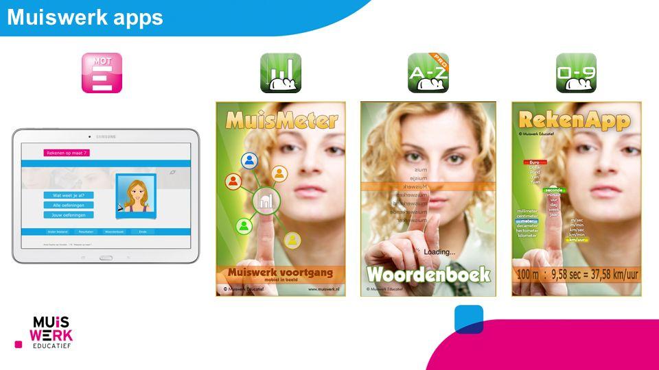 Muiswerk apps