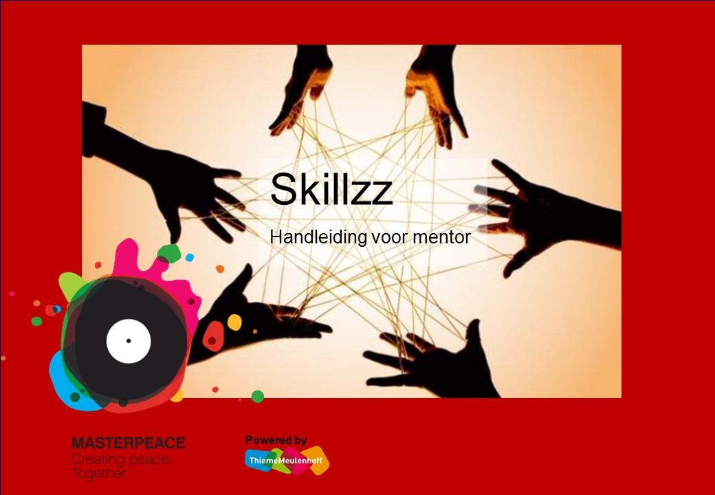Skillzz Handleiding voor mentor Powered by