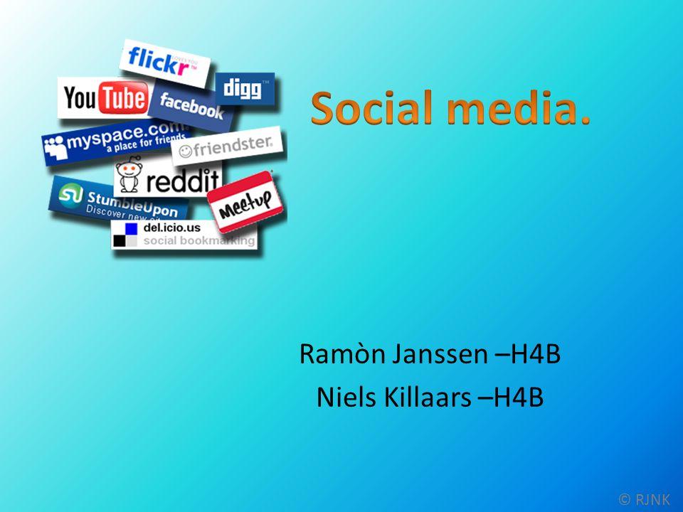 1: Wat is Social Media.