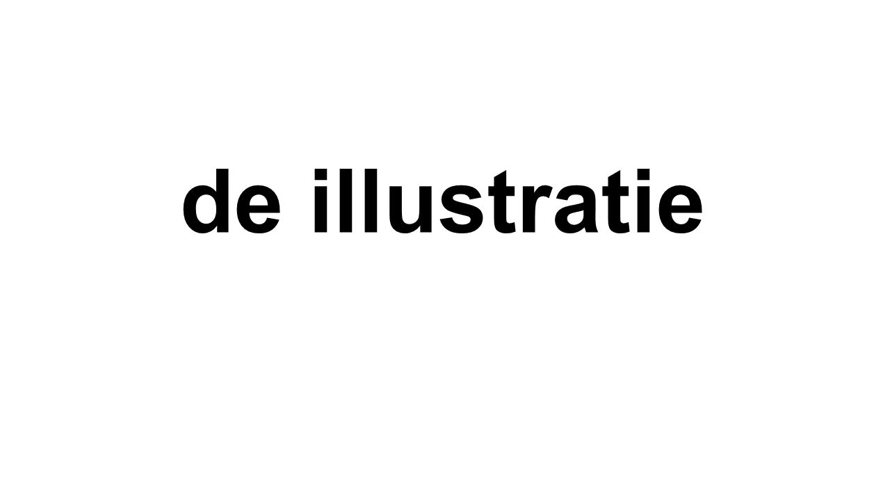 de illustratie