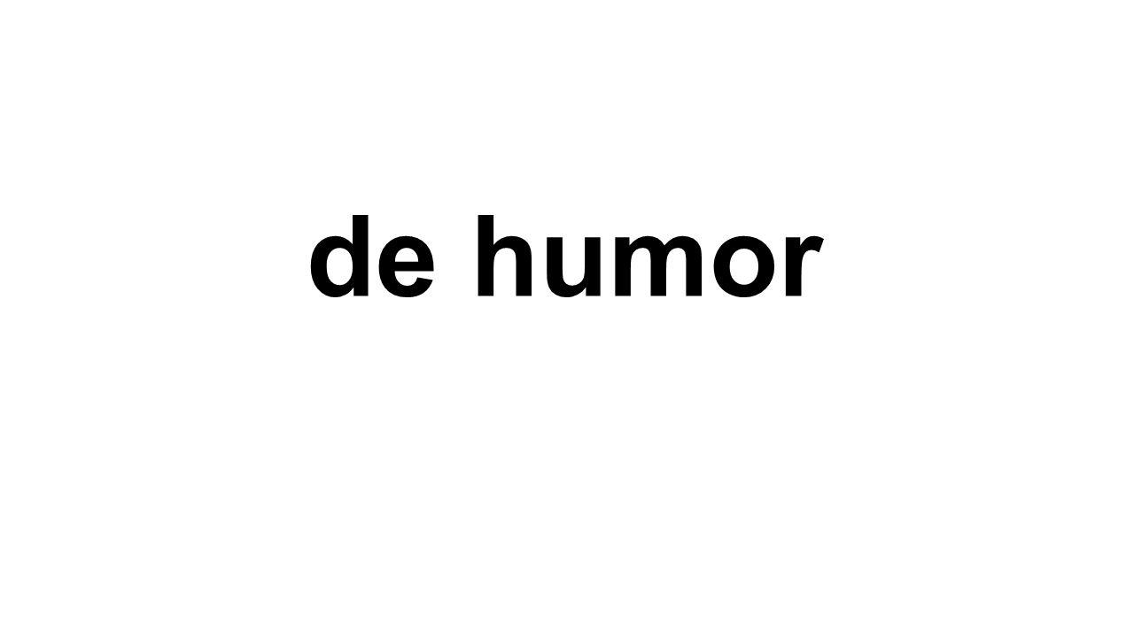 de humor