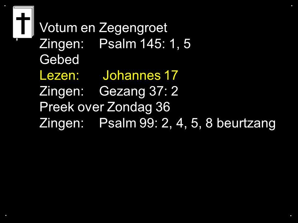 ... Psalm 99: 2, 4, 5, 8 vrouwen