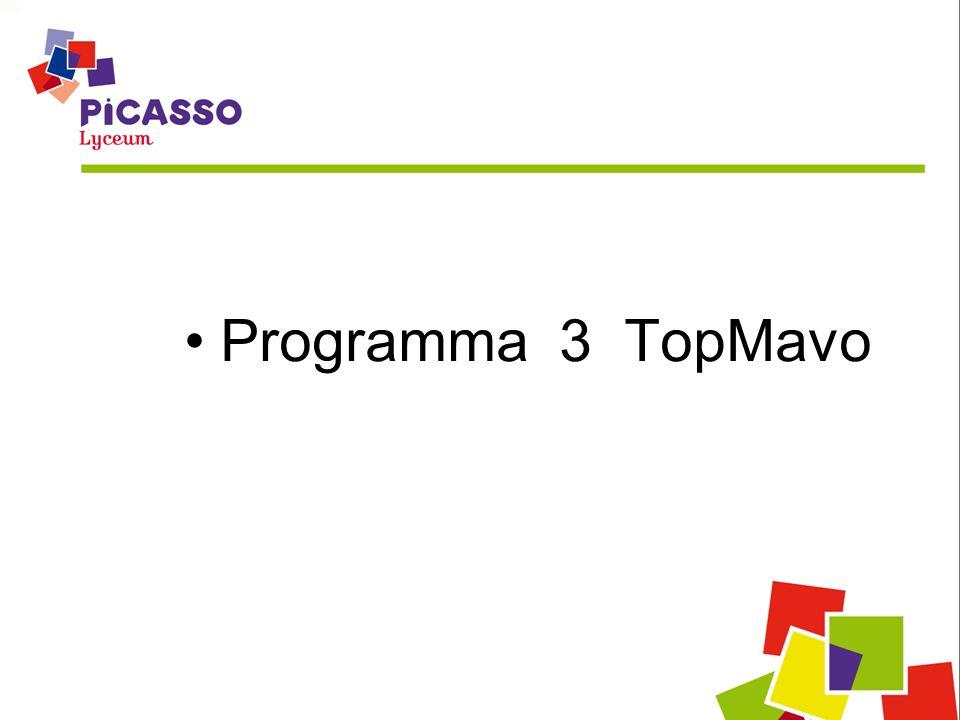 Programma 3 TopMavo