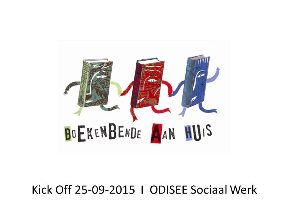 Kick Off 25-09-2015 I ODISEE Sociaal Werk