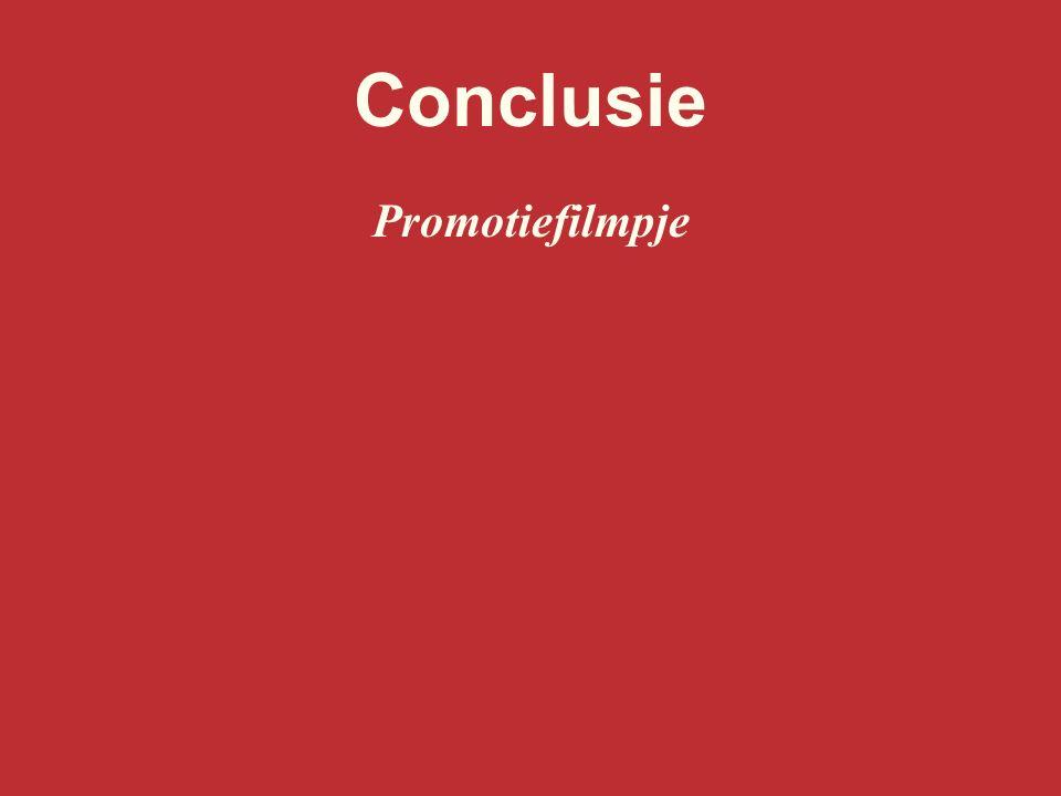 Conclusie Promotiefilmpje