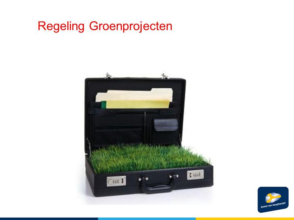 Regeling Groenprojecten