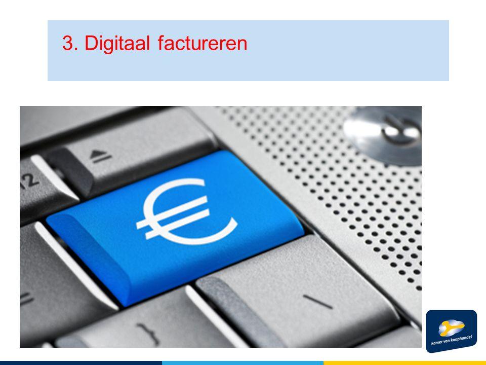 3. Digitaal factureren