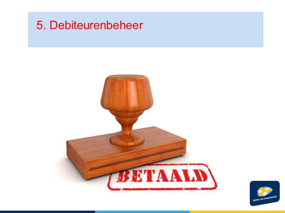 5. Debiteurenbeheer