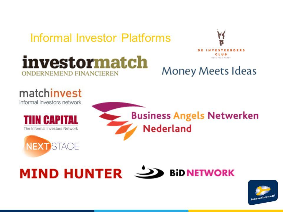 Informal Investor Platforms