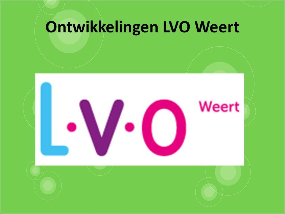 Ontwikkelingen LVO Weert