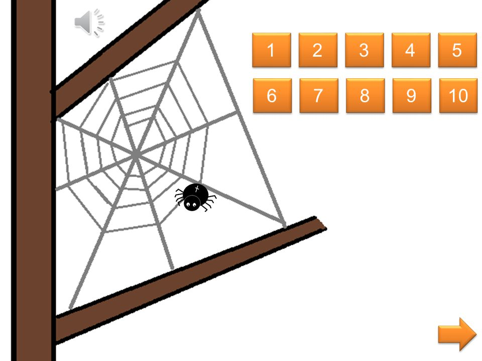 welke spin is kleiner dan de spin midden in het web