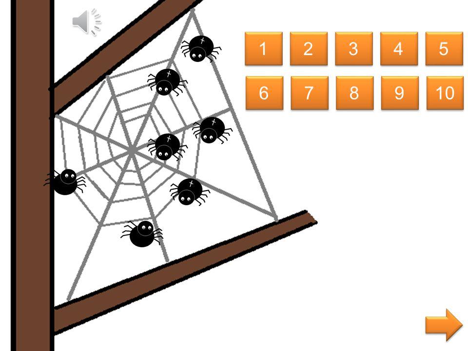 welke spin is even groot als de spin midden in het web