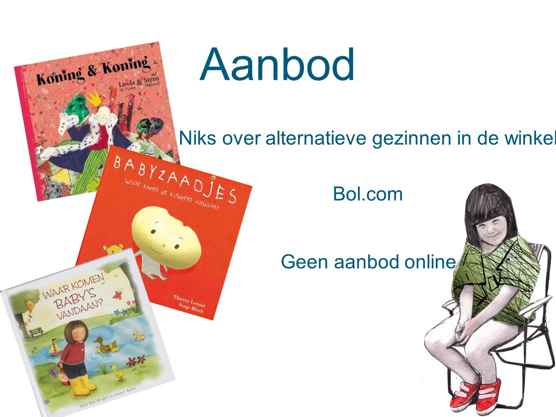 Aanbod Niks over alternatieve gezinnen in de winkel Bol.com Geen aanbod online