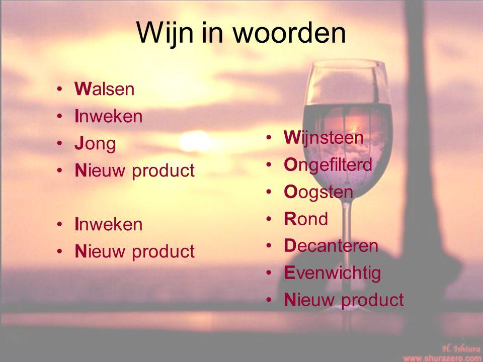 Wijn in woorden Walsen Inweken Jong Nieuw product Inweken Nieuw product Wijnsteen Ongefilterd Oogsten Rond Decanteren Evenwichtig Nieuw product