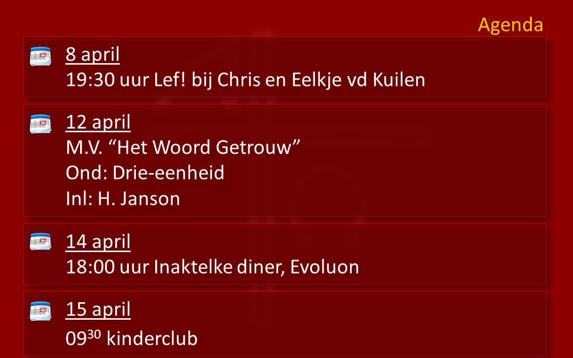 Diensten 9:30voorganger: kand.W. Jagersma uit Kampen 16:30 voorganger: ds.