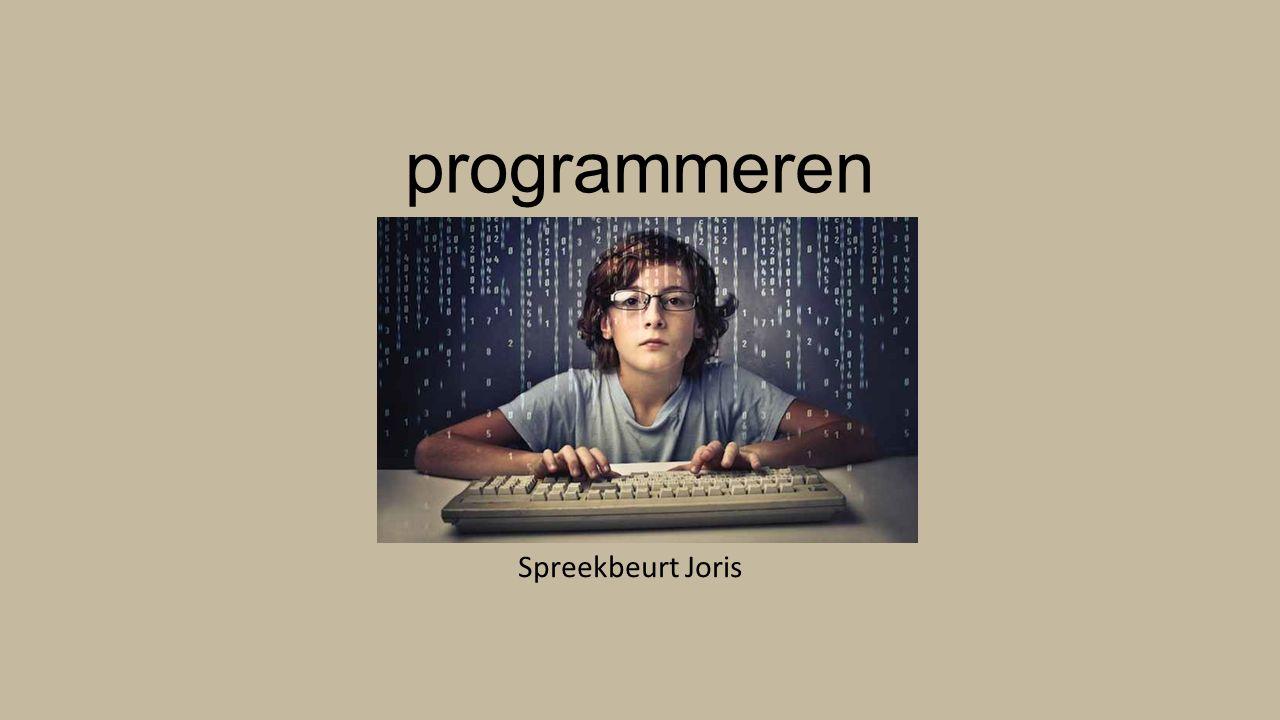 Waar vindt je een computerprogramma?