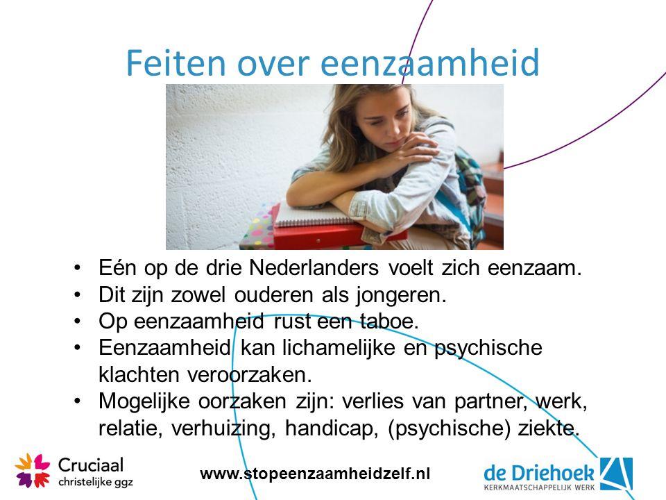 www.stopeenzaamheidzelf.nl Wat kan jij zelf doen als je je eenzaam voelt.