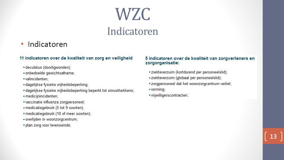 WZC Indicatoren Indicatoren 13
