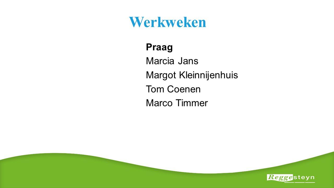 Werkweken Praag Marcia Jans Margot Kleinnijenhuis Tom Coenen Marco Timmer