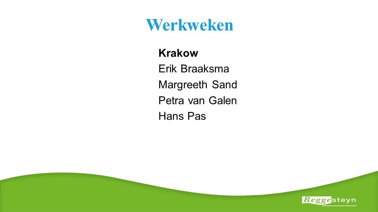 Werkweken Krakow Erik Braaksma Margreeth Sand Petra van Galen Hans Pas