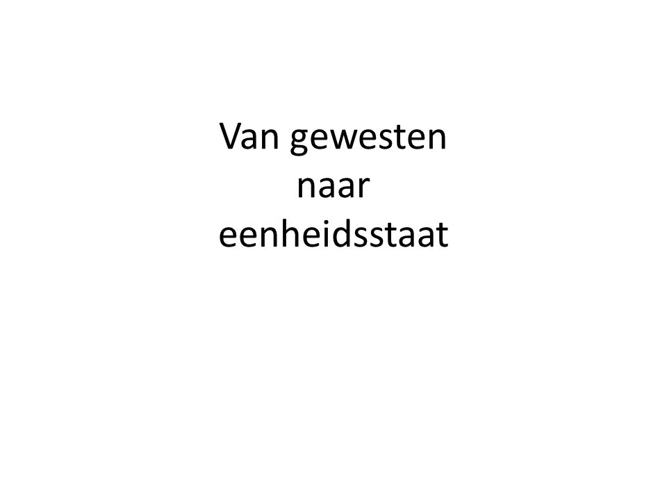 Drie mijlpalen Het ontstaan van de onafhankelijke Republiek der (zeven) Verenigde Nederlanden 1568- 1648 Nederland als constitutionele monarchie in 1813 Nederland als parlementaire democratie na 1848