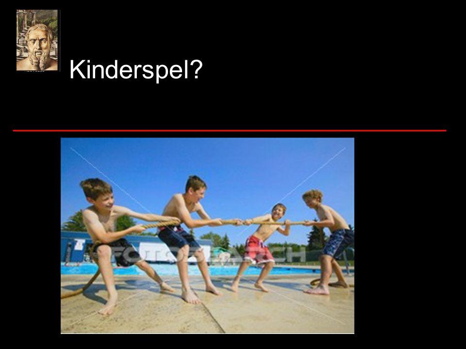 Kinderspel?