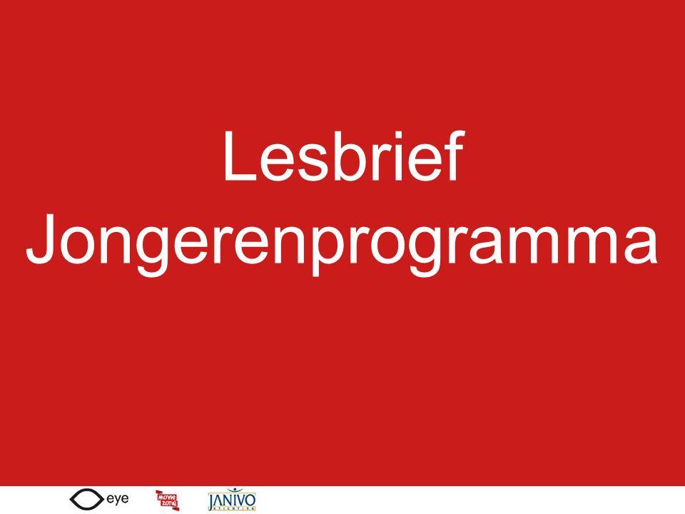 Lesbrief Jongerenprogramma