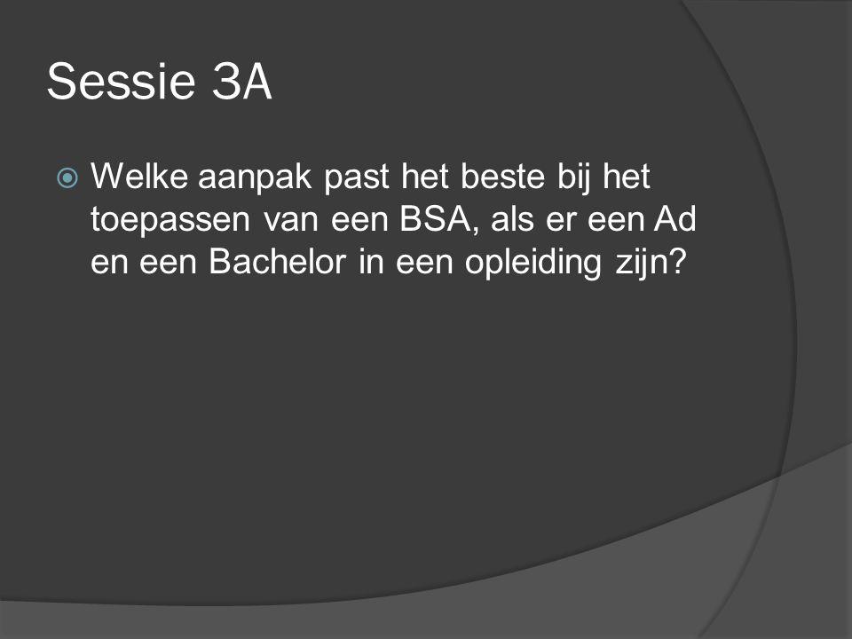 Sessie 3B  Wat is de afstudeerfase van een Ad?