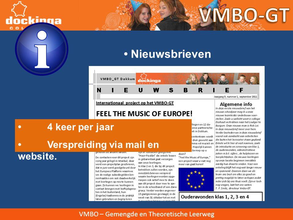 VMBO – Gemengde en Theoretische Leerweg Magister Inloggen via website of https://dockinga.magister.nethttps://dockinga.magister.net Voor vragen: zie algemene website onder 'Magister' Magister