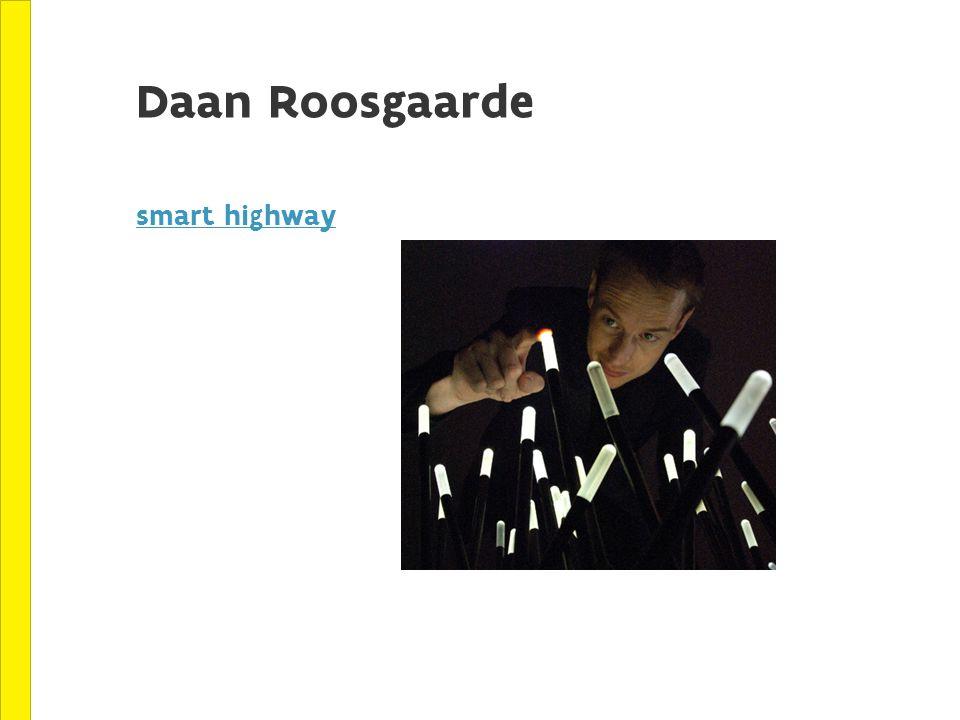 Daan Roosgaarde smart highway