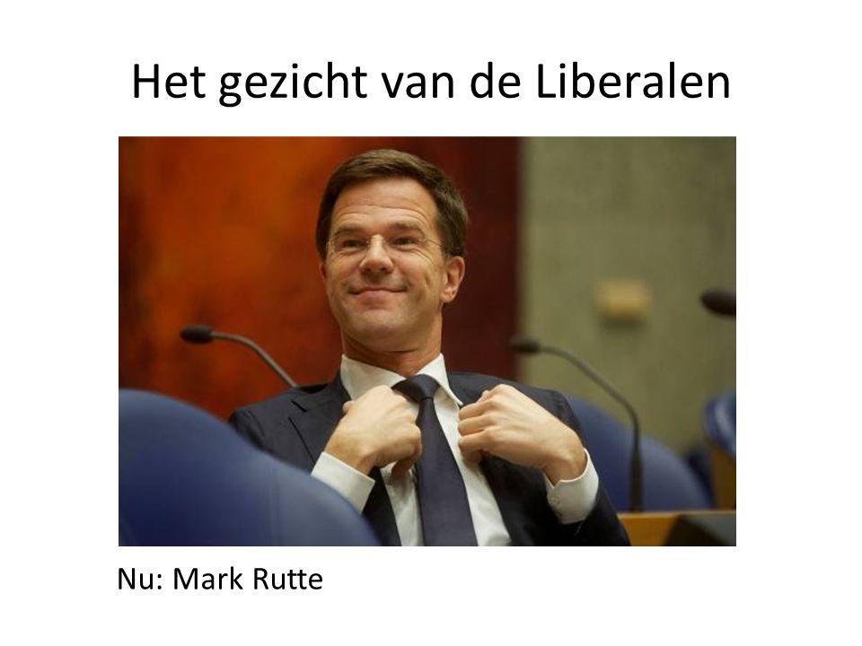 Het gezicht van de Liberalen Nu: Mark Rutte