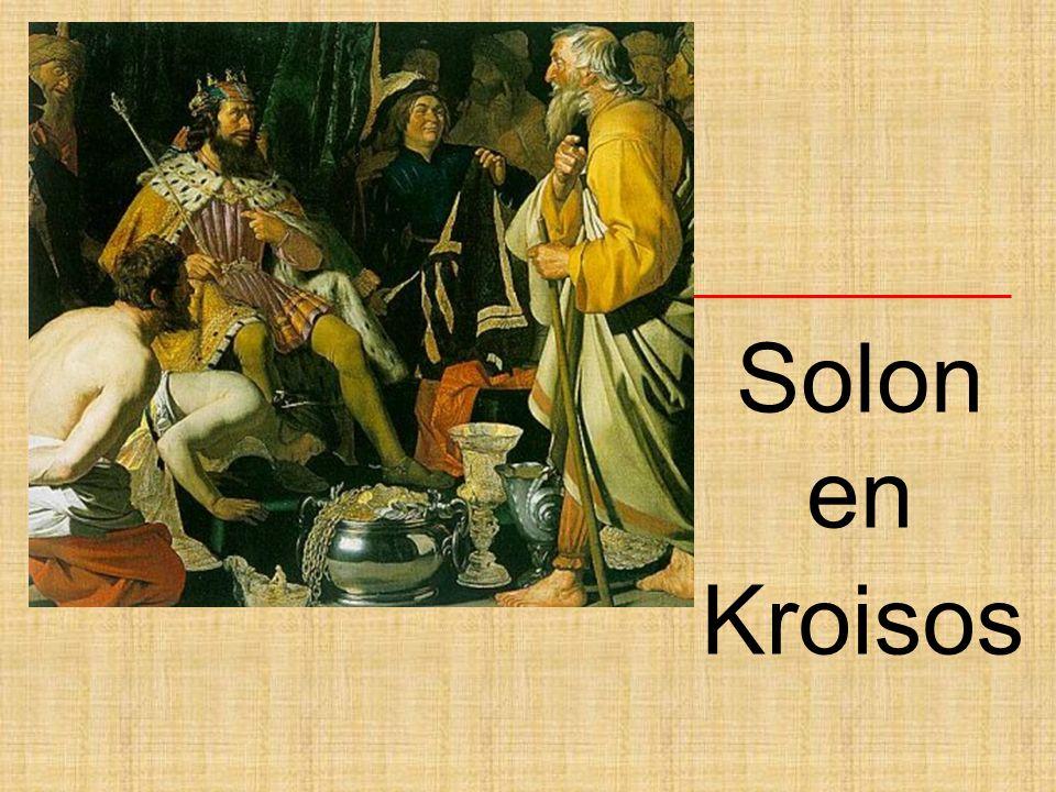 Kroisos, koning van Lydië Bekende figuur in Griekenland.