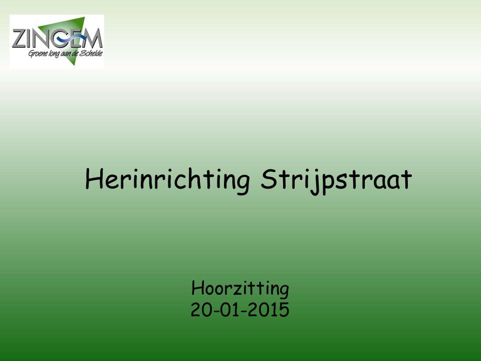 Herinrichting Strijpstraat Hoorzitting 20-01-2015