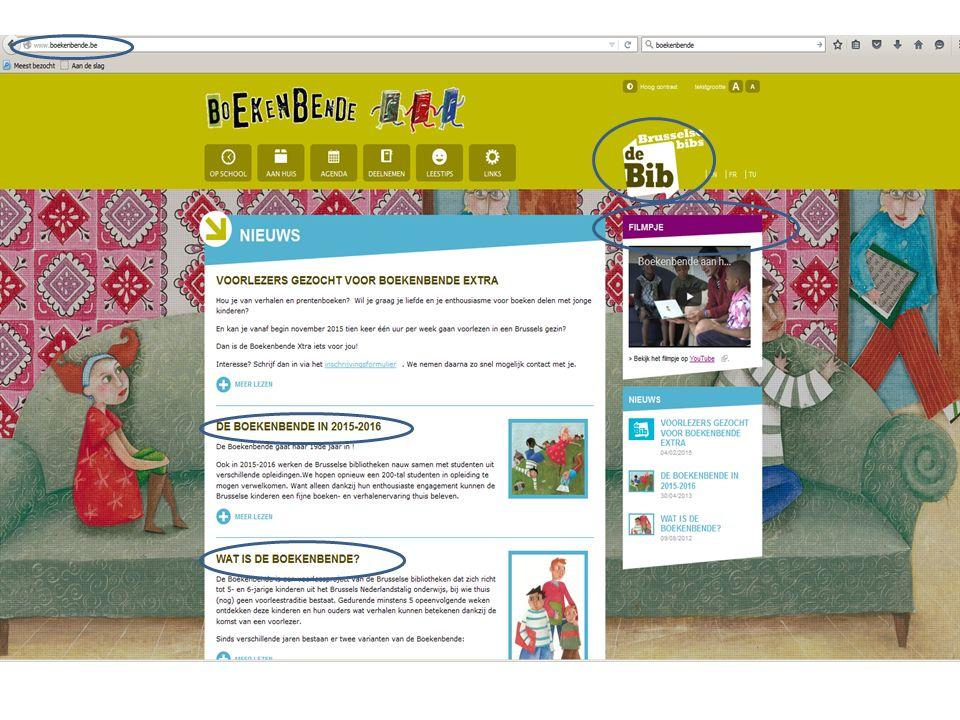 - Ouderbetrokkenheid stimuleren - Ouders aanzetten om verhalen- /boekenrijke thuiscontext te creëren - Leesplezier - Taalstimulering - Knuffelwaarde van het NL - Ontluikende geletterdheid - Interculturele ontmoeting - Voorlees-/vertelervaring -Werken met kansengroepen - Brussel-ervaring Boeken/verhalen binnen brengen bij gezinnen waar weinig of niet voorgelezen wordt, noch in het NL noch in de thuista(a)l(en.