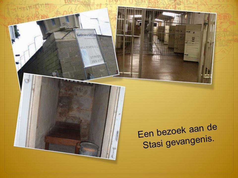 Een bezoek aan de Stasi gevangenis.