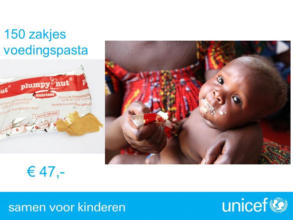 € 47,- 150 zakjes voedingspasta