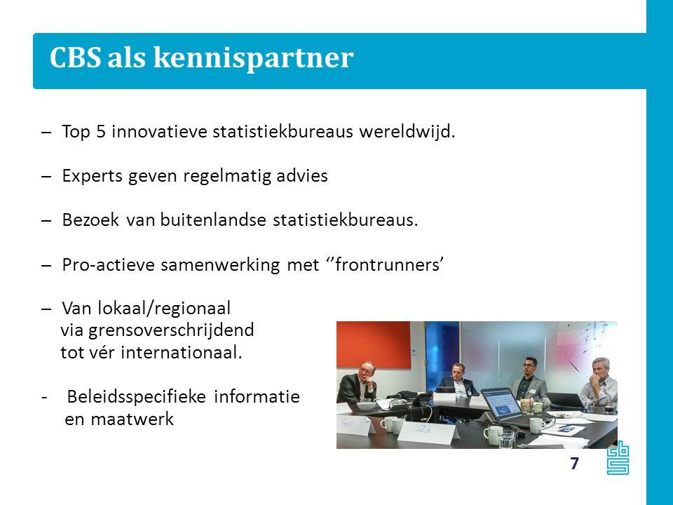 CBS als kennispartner – Top 5 innovatieve statistiekbureaus wereldwijd.