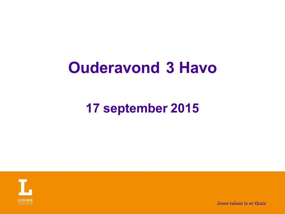 Decaan Havo Gerrie Hermsen g.hermsen@ludgercollege.nl Telefoon: 0314-325248 Decanendag: donderdag Communicatie ook via website school