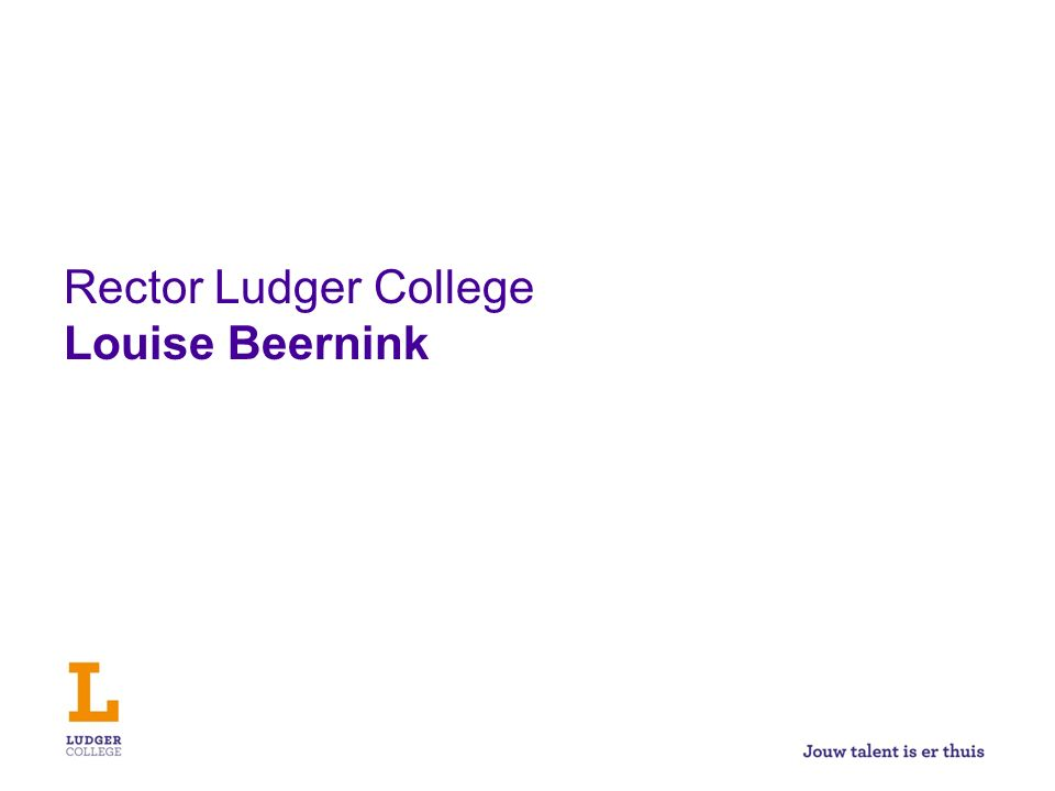 Rector Ludger College Louise Beernink