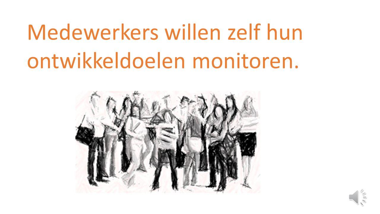 Verdieping monitoring eigen ontwikkeldoelen door medewerker Een product van KwaliteitscholenAugustus 2015