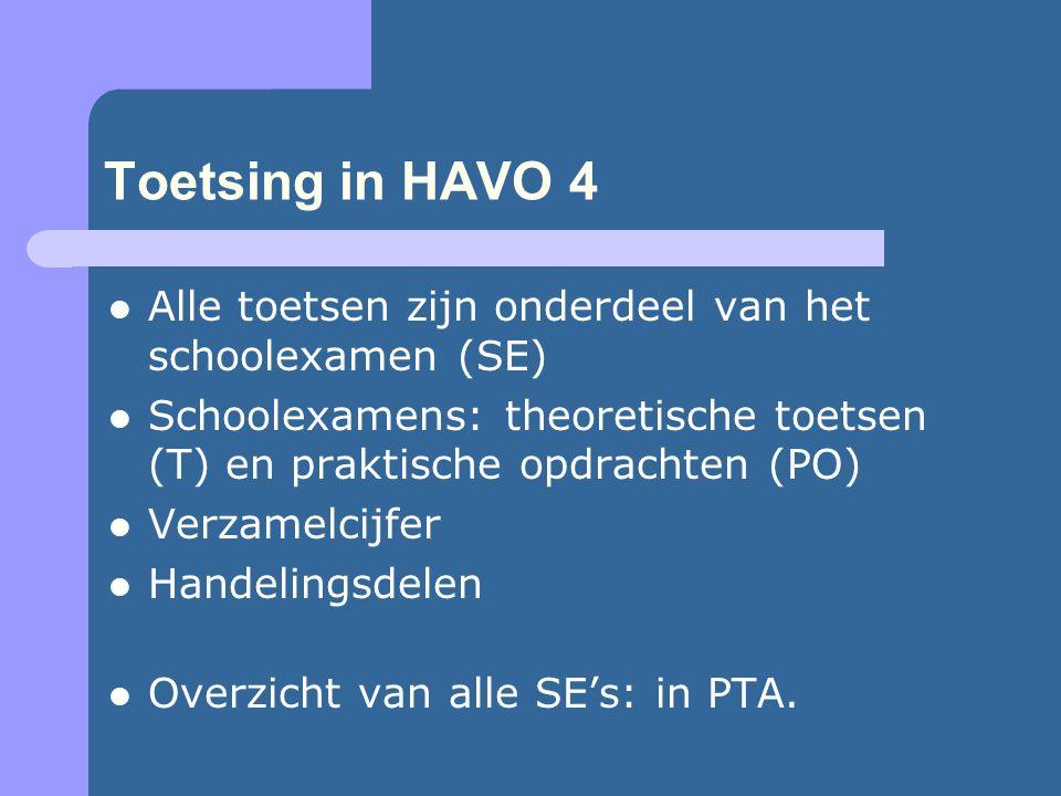 Rapportage 3 rapportperiodes; 4 onderwijsblokken, 4 SE- periodes.