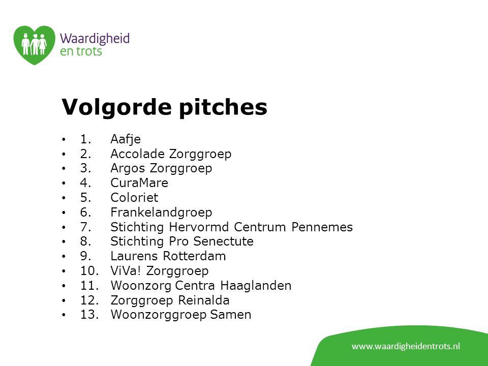 www.waardigheidentrots.nl Projectnaam: We(l)zijn graag samen