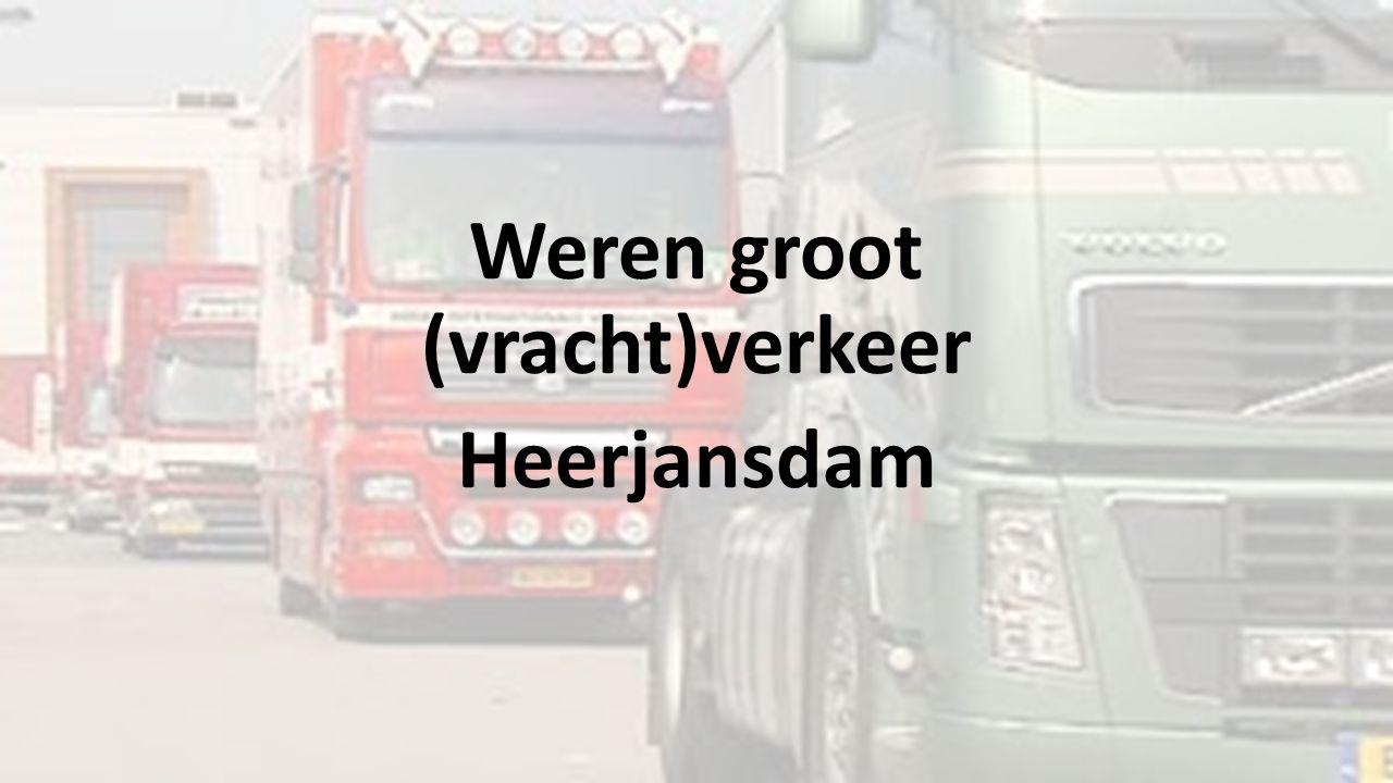Weren groot (vracht)verkeer Heerjansdam