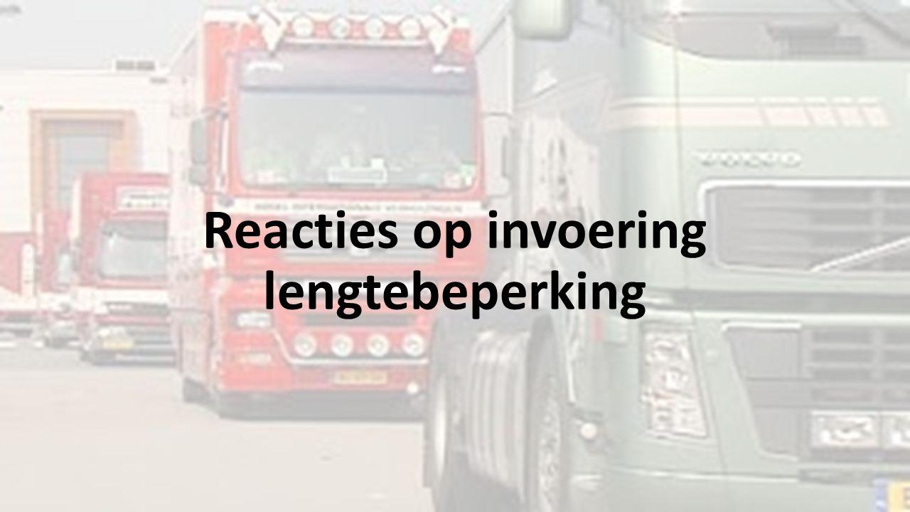 Verkeersborden Locatie vrachtwagenverboden.