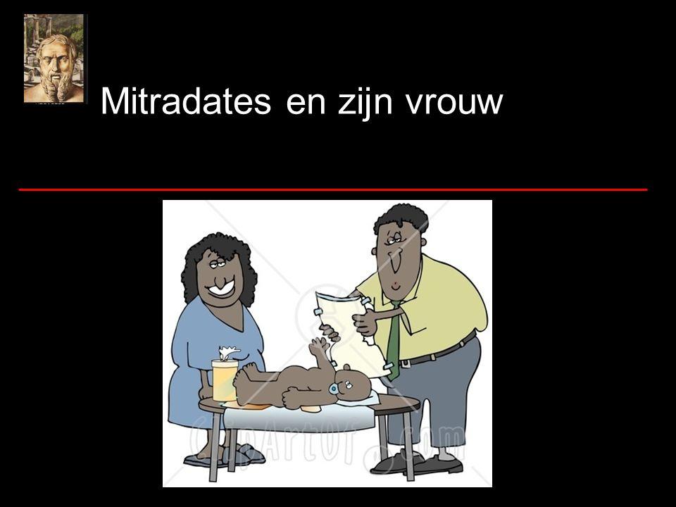 Mitradates en zijn vrouw