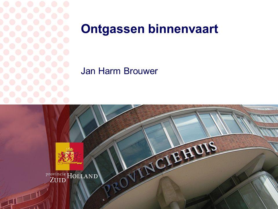 Ontgassen binnenvaart Jan Harm Brouwer