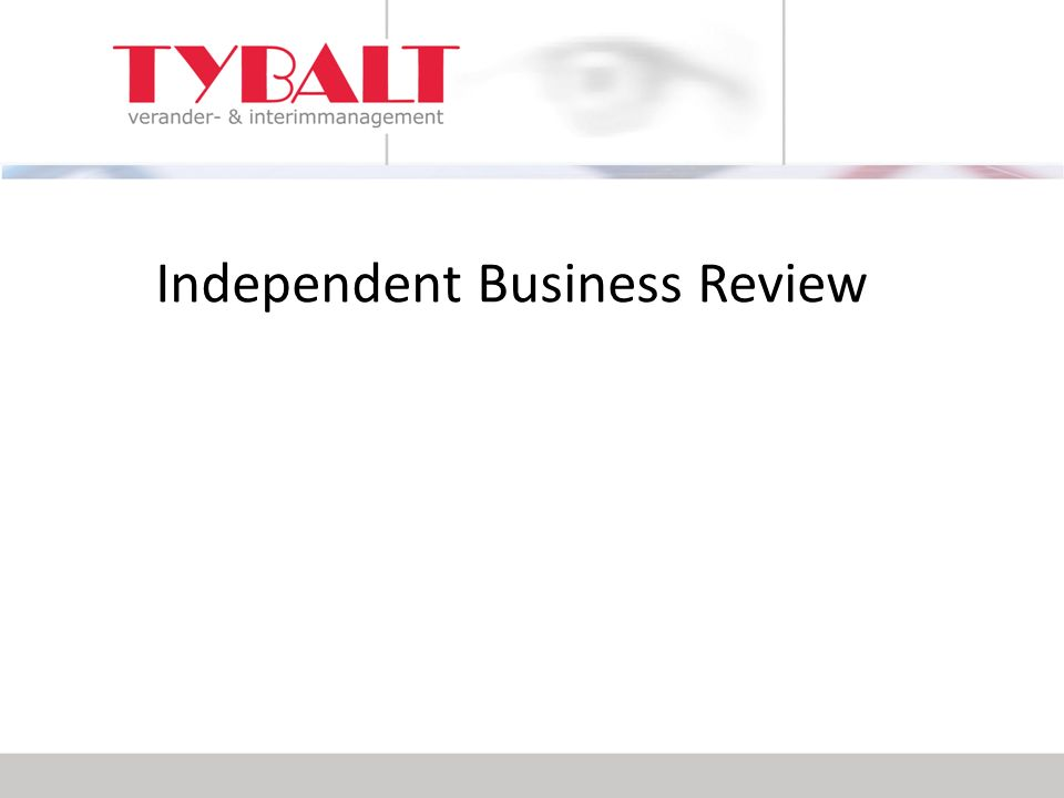 Independent Business Review